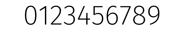 Fira Sans ExtraLight Font OTHER CHARS