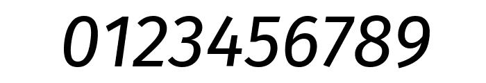 Fira Sans Italic Font OTHER CHARS