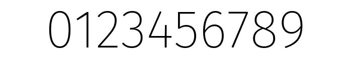 Fira Sans UltraLight Font OTHER CHARS