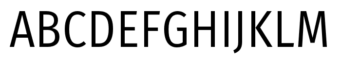 FiraSansCondensed-Book Font UPPERCASE