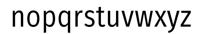 FiraSansCondensed-Book Font LOWERCASE