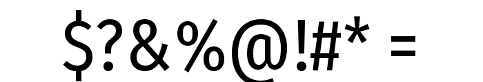 FiraSansCondensed-Regular Font OTHER CHARS