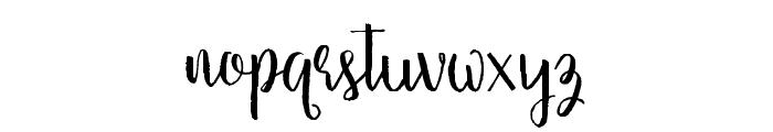 Firdaus Font LOWERCASE