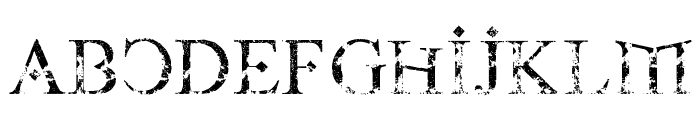 Fire Of Ysgard Carved In Stone Font LOWERCASE