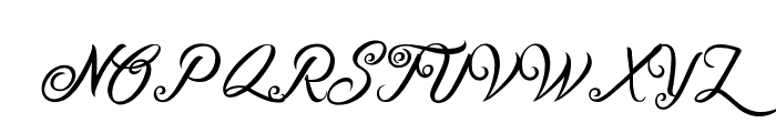 Fire on the Mountain Font UPPERCASE