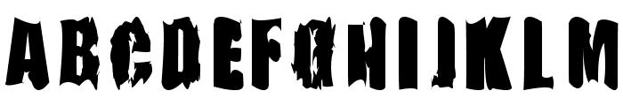 FireBomb Font UPPERCASE