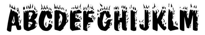 Firebug Caps SSi Font UPPERCASE