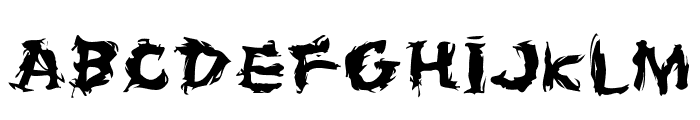 Firehouse Font UPPERCASE