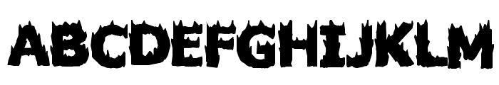 Firestarter Font UPPERCASE