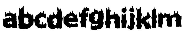 Firestarter Font LOWERCASE