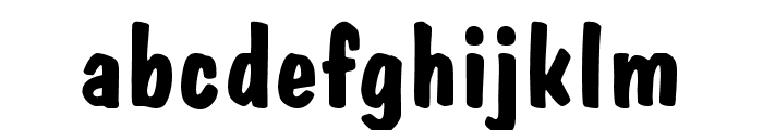 Firey Normal Font LOWERCASE