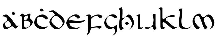 First Order Light Font UPPERCASE