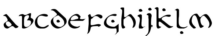 First Order Light Font LOWERCASE