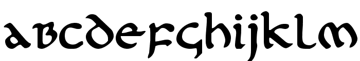 First Order Plain Font LOWERCASE