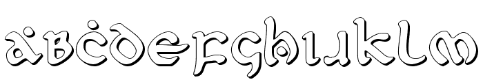 First Order Shadow Font UPPERCASE