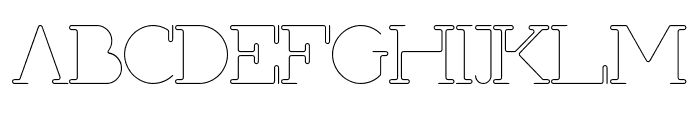 First Shine Font UPPERCASE