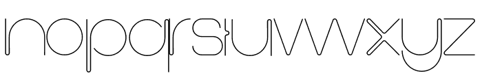 First Shine Font LOWERCASE