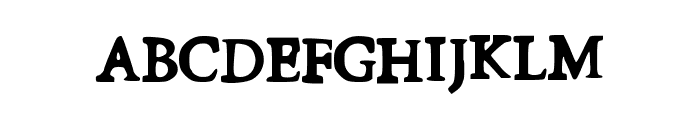 FirstDay Font UPPERCASE