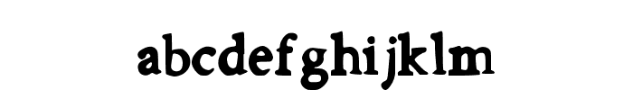 FirstDay Font LOWERCASE