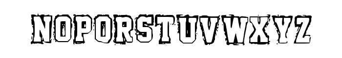 Fish Font UPPERCASE