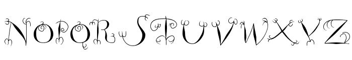 FishHooks Font UPPERCASE