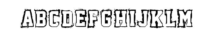Fish Font LOWERCASE