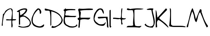Fishalicious Font UPPERCASE