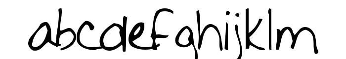 Fishalicious Font LOWERCASE