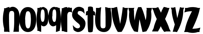 Fishbowl Font LOWERCASE