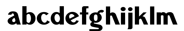 Fisher-Price Gothic Font LOWERCASE