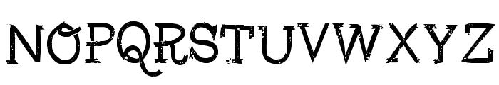 Fisher-Regular Font UPPERCASE
