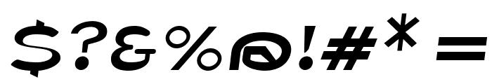Fisherman Sans Oblique Font OTHER CHARS