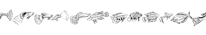 Fishing Font LOWERCASE