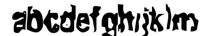 Fit of Tears Font LOWERCASE