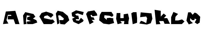 Fittsvamp Font UPPERCASE