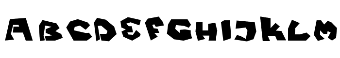 Fittsvamp Font LOWERCASE