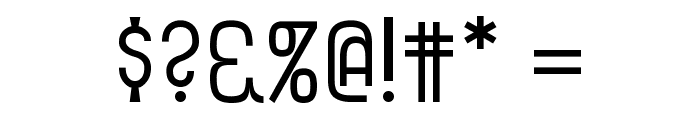 Fitzgerald Font OTHER CHARS