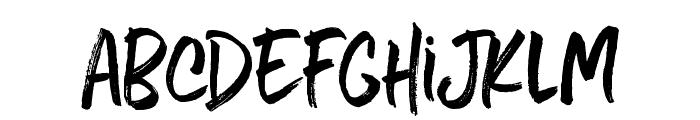 Five Boroughs Handwriting Font LOWERCASE