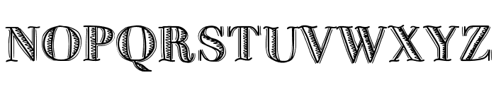 FiveDollar Font UPPERCASE