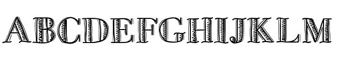 FiveDollar Font LOWERCASE
