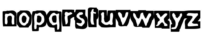 FiveFingerDiscount Font LOWERCASE