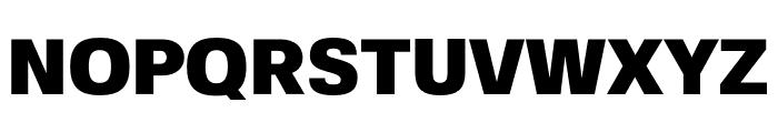 FivoSans-Black Font UPPERCASE