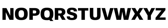 FivoSans-Heavy Font UPPERCASE