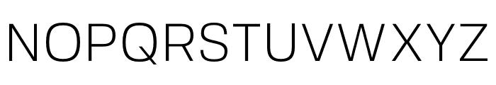 FivoSans-Light Font UPPERCASE