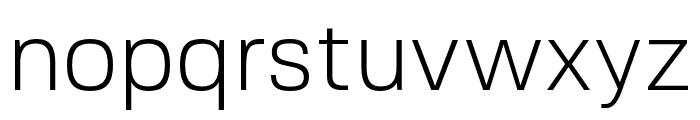FivoSans-Light Font LOWERCASE