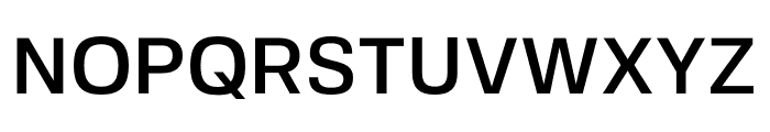 FivoSans-Medium Font UPPERCASE