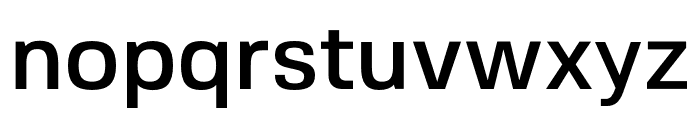 FivoSans-Medium Font LOWERCASE