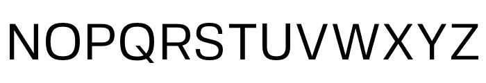FivoSans-Regular Font UPPERCASE