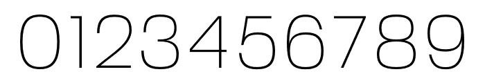 FivoSans-Thin Font OTHER CHARS
