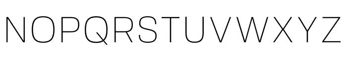 FivoSans-Thin Font UPPERCASE